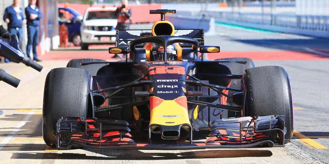 Max Verstappen - Red Bull - F1-Test - Barcelona - Tag 5 - 6. März 2018