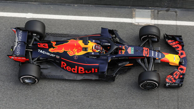 Max Verstappen - Red Bull - F1-Test - Barcelona - Tag 7 - 8. März 2018