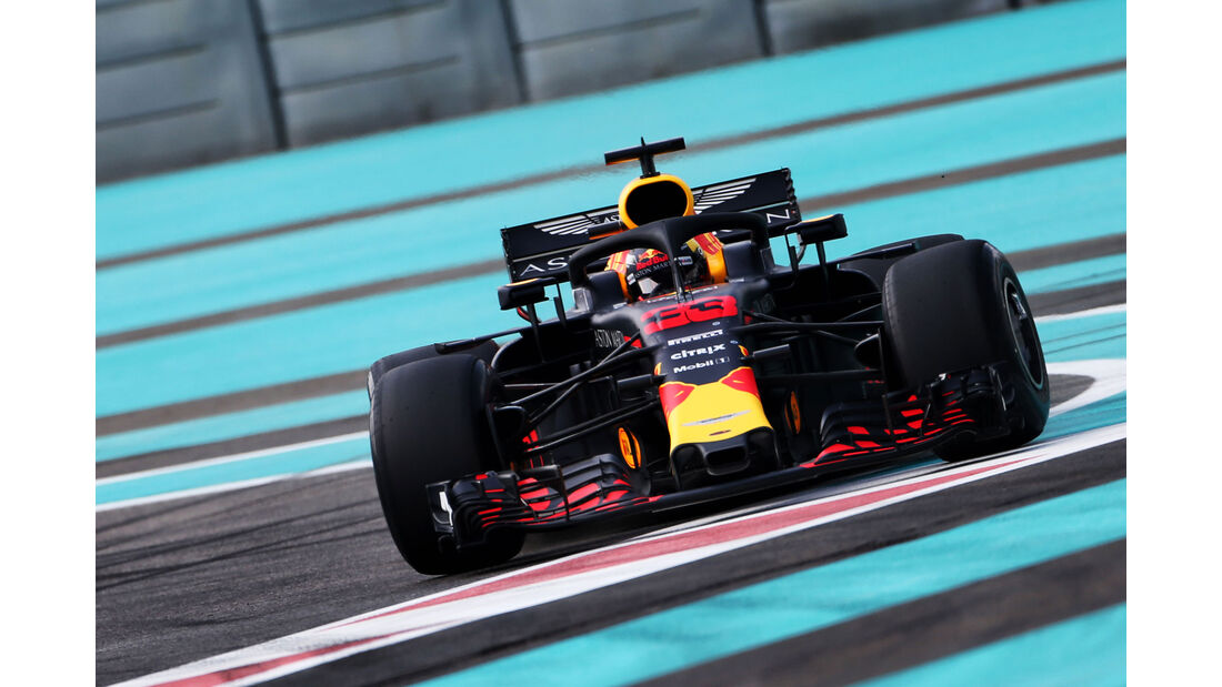 Max Verstappen - Red Bull - F1-Testfahrten - Abu Dhabi - 27.11.2018