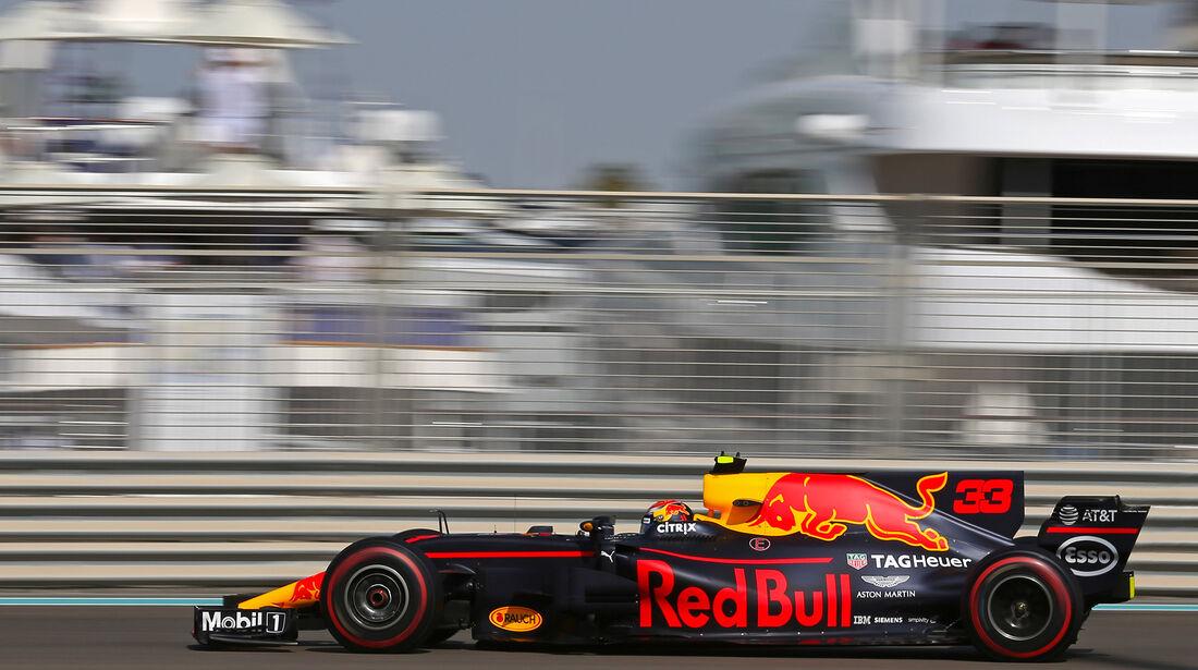 Max Verstappen - Red Bull - Formel 1 - GP Abu Dhabi - 24. November 2017
