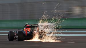 Max Verstappen - Red Bull - Formel 1 - GP Abu Dhabi - 26. November 2016