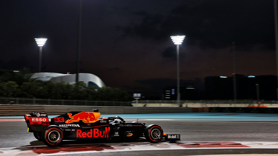 Max Verstappen - Red Bull - Formel 1 - GP Abu Dhabi - Samstag - 12.12.2020
