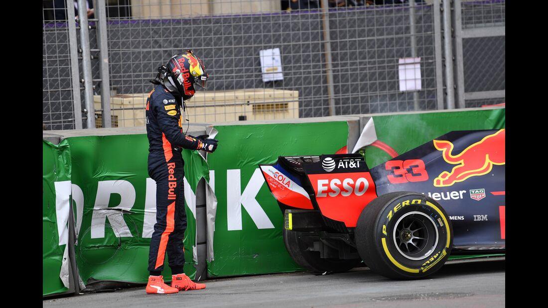 Max Verstappen - Red Bull - Formel 1 - GP Aserbaidschan - 27. April 2018