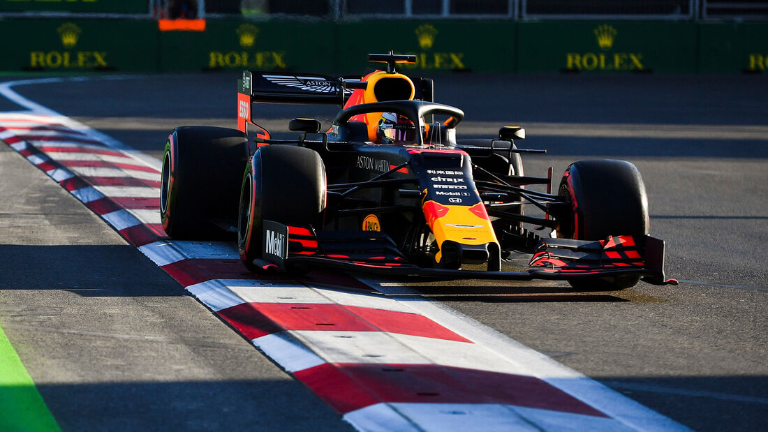 Max Verstappen - Red Bull - Formel 1 - GP Aserbaidschan - 27. April 2019