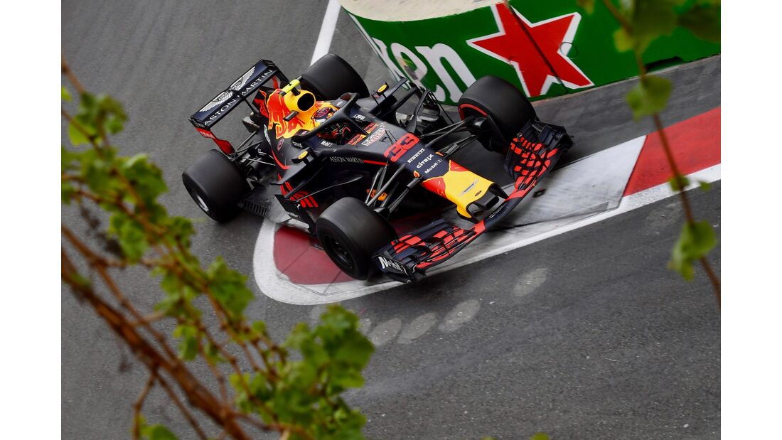 Max Verstappen - Red Bull - Formel 1 - GP Aserbaidschan - 29. April 2018