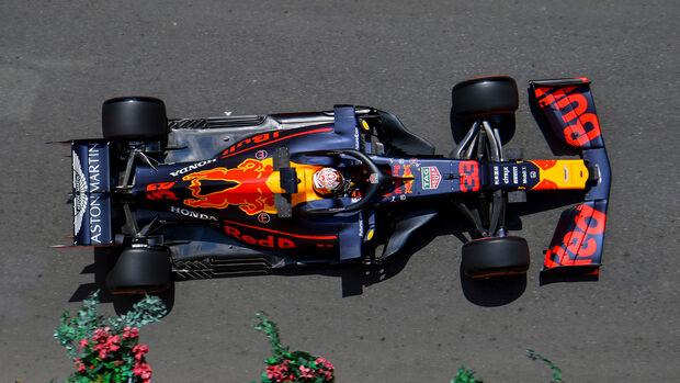 Max Verstappen - Red Bull - Formel 1 - GP Aserbaidschan - Baku - 26. April 2019