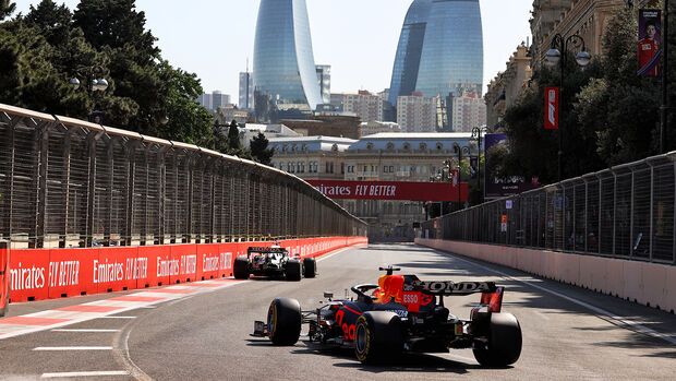 Max Verstappen - Red Bull - Formel 1 - GP Aserbaidschan - Baku - Freitag - 4.6.2021