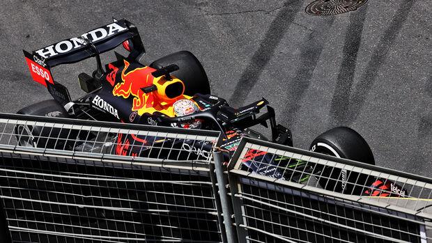 Max Verstappen - Red Bull - Formel 1 - GP Aserbaidschan - Baku - Samstag - 5.6.2021