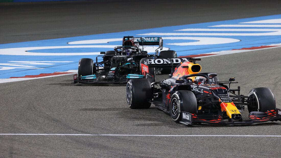 Max Verstappen - Red Bull - Formel 1 - GP Bahrain 2021 - Rennen