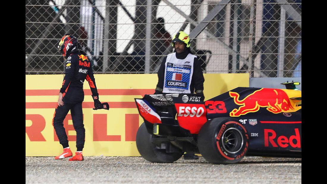 Max Verstappen - Red Bull - Formel 1 - GP Bahrain - 7. April 2018