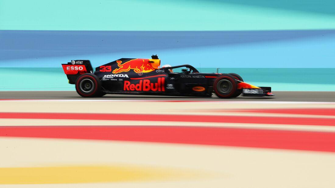 Max Verstappen - Red Bull - Formel 1 - GP Bahrain- Sakhir - Freitag - 27.11.2020