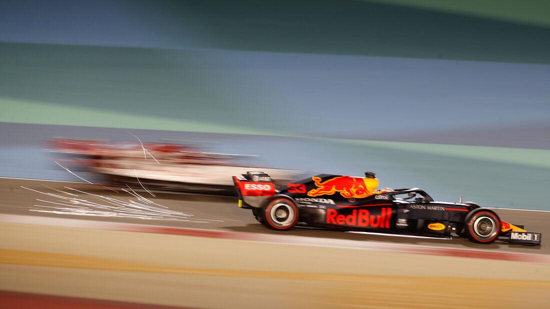 Max Verstappen - Red Bull - Formel 1 - GP Bahrain - Sakhir - Freitag - 27.11.2020