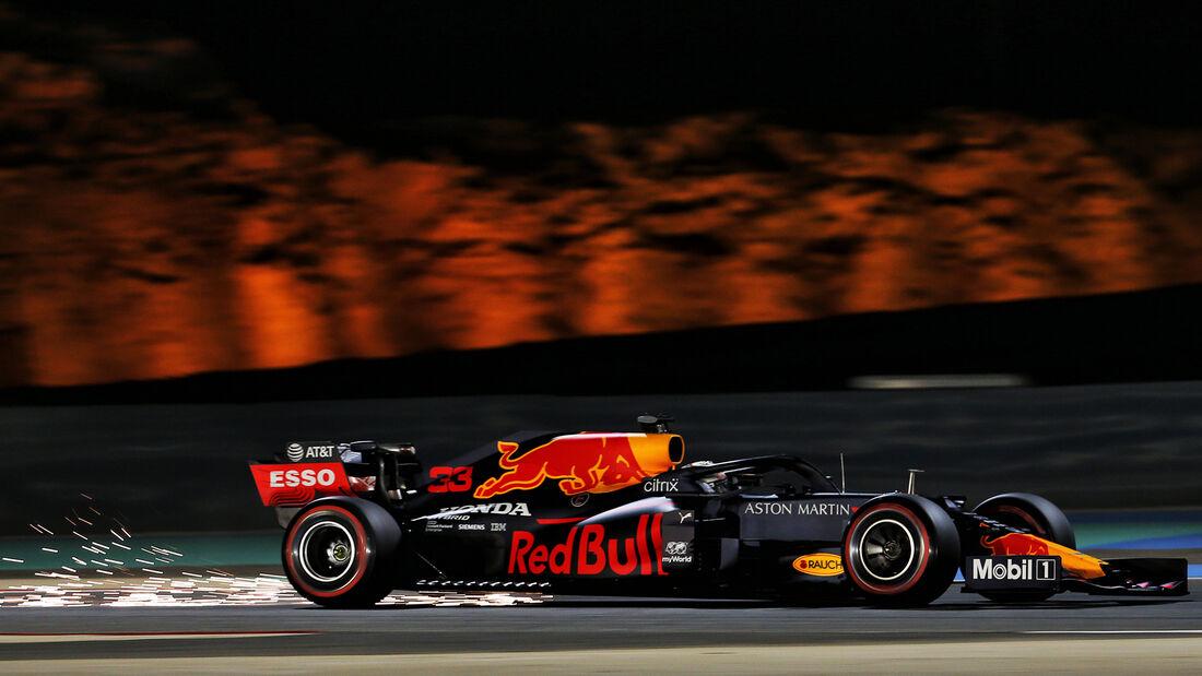Max Verstappen - Red Bull - Formel 1 - GP Bahrain - Sakhir - Qualifikation - Samstag - 28.11.2020