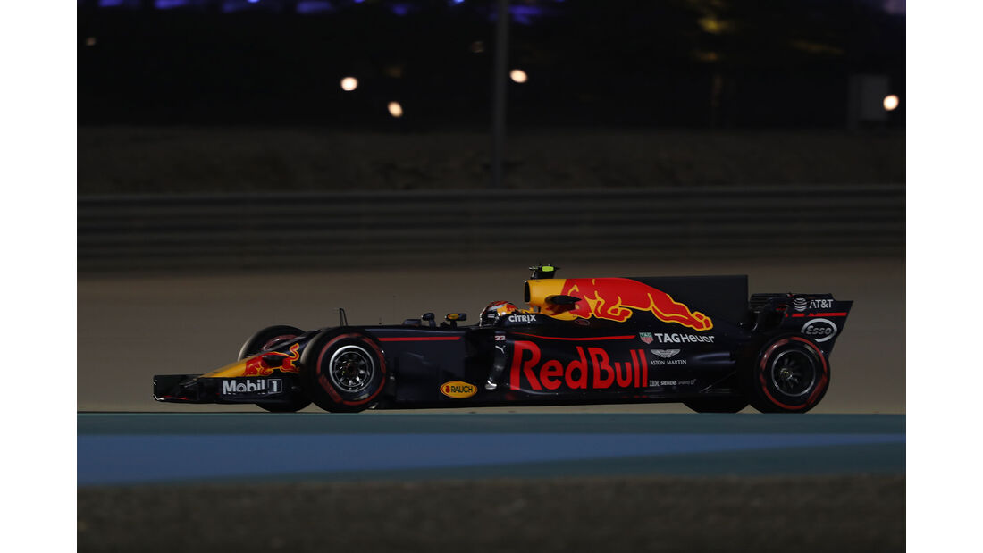Max Verstappen -Red Bull - Formel 1 - GP Bahrain - Sakhir - Training - Freitag - 14.4.2017