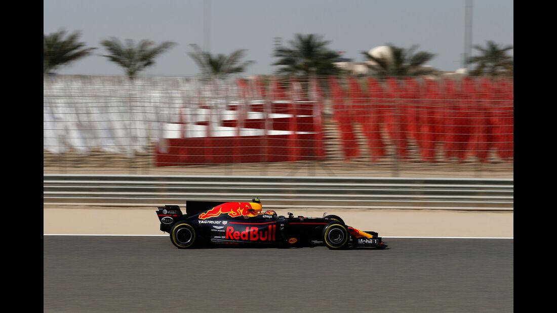 Max Verstappen - Red Bull - Formel 1 - GP Bahrain - Sakhir - Training - Freitag - 14.4.2017