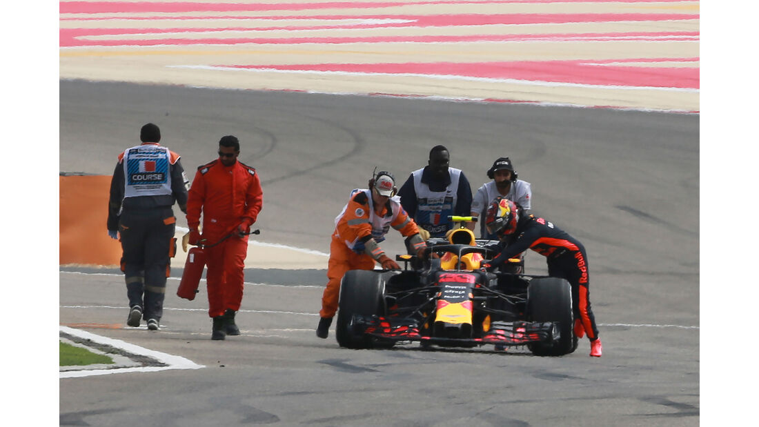 Max Verstappen - Red Bull - Formel 1 - GP Bahrain - Training - 6. April 2018