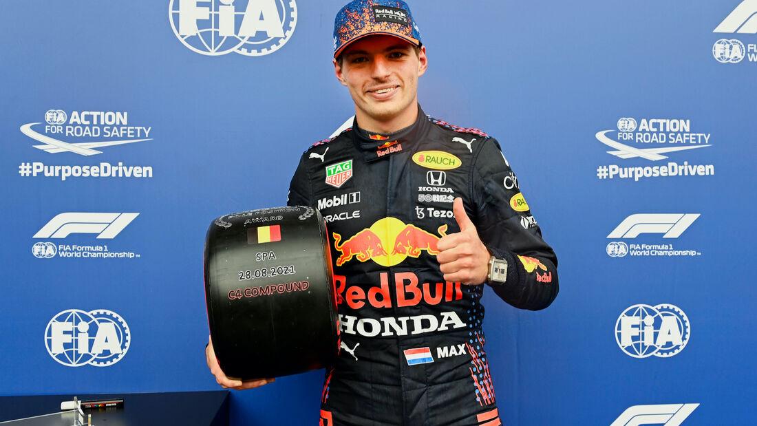 Max Verstappen - Red Bull - Formel 1 - GP Belgien - 28. August 2021