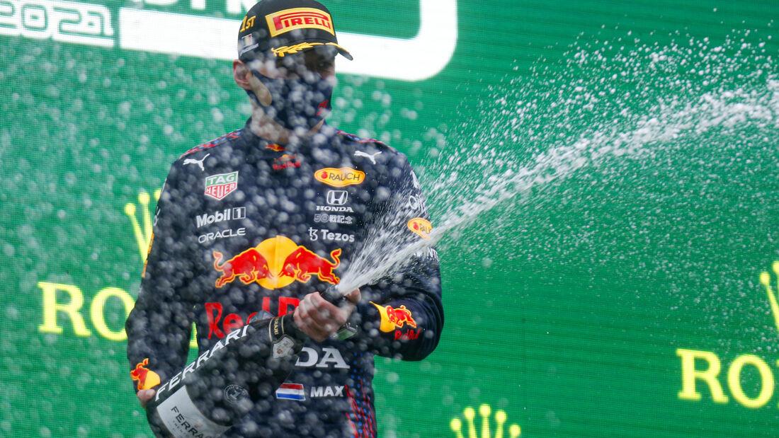 Max Verstappen - Red Bull - Formel 1 - GP Belgien - 29. August 2021