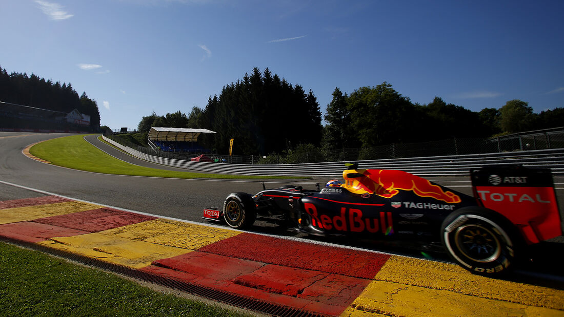 Max Verstappen - Red Bull - Formel 1 - GP Belgien - Spa-Francorchamps - 26. August 2016