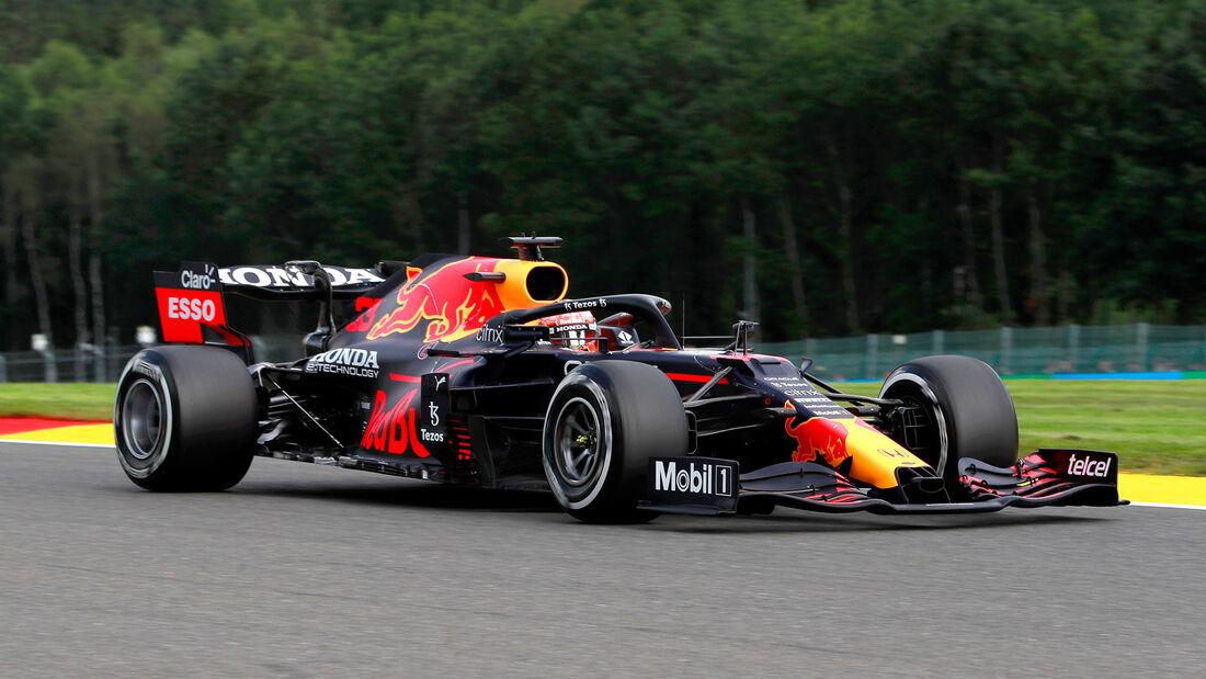 Max Verstappen - Red Bull - Formel 1 - GP Belgien - Spa-Francorchamps - 27. August 2021