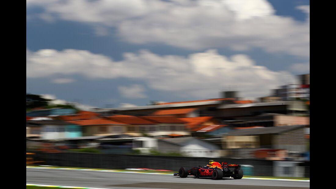 Max Verstappen - Red Bull - Formel 1 - GP Brasilien - 10. November 2017