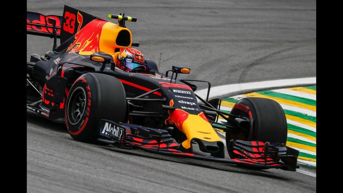 Max Verstappen - Red Bull - Formel 1 - GP Brasilien - 11. November 2017