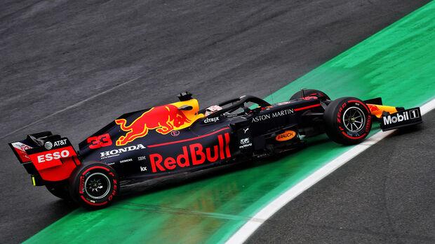 Max Verstappen - Red Bull - Formel 1 - GP Brasilien - Sao Paulo - 15. November 2019