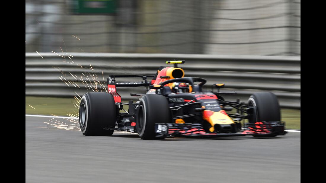 Max Verstappen - Red Bull - Formel 1 - GP China - Shanghai - 13. April 2017