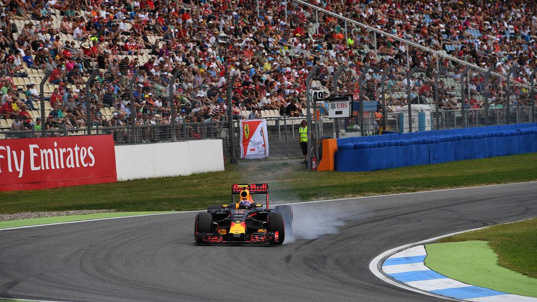 Max Verstappen - Red Bull  - Formel 1 - GP Deutschland - 30. Juli 2016