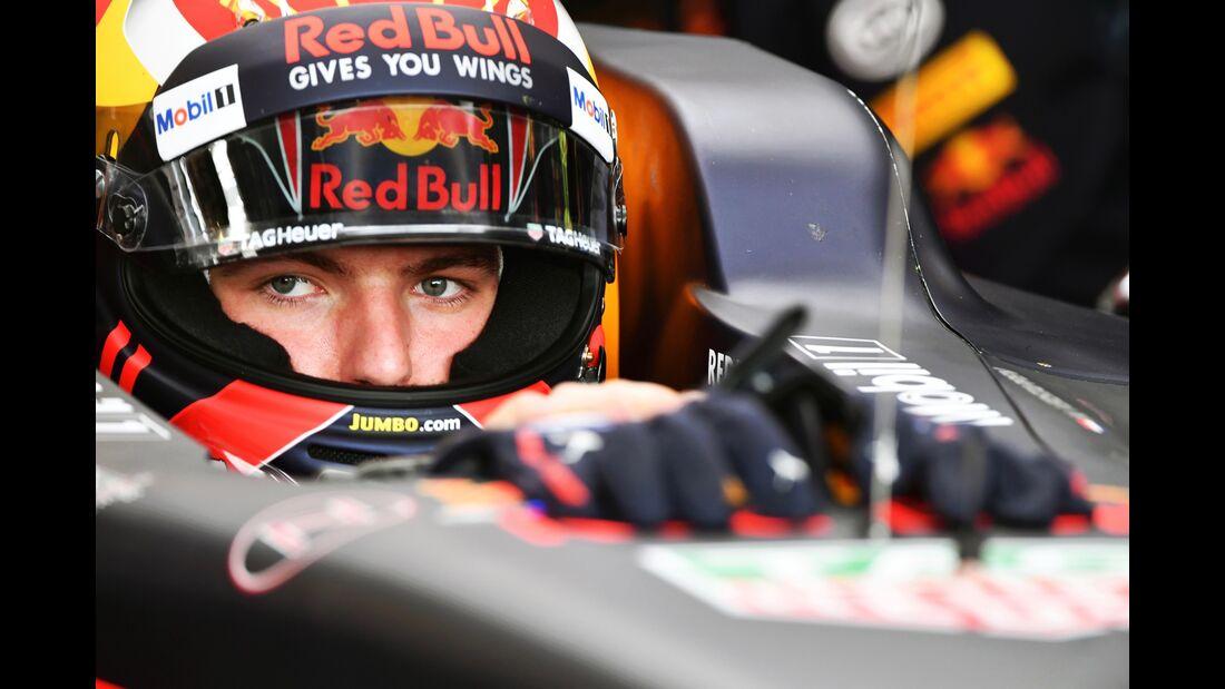 Max Verstappen - Red Bull - Formel 1 - GP England - 14. Juli 2017