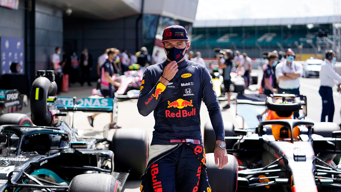 Max Verstappen - Red Bull - Formel 1 - GP England - Silverstone - 1. August 2020