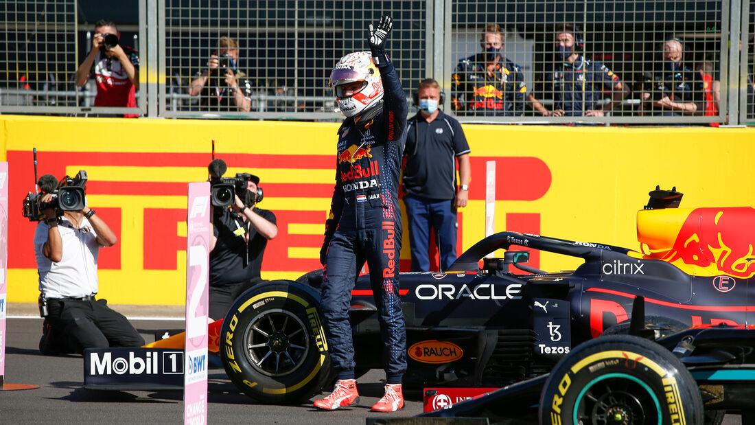 Max Verstappen - Red Bull - Formel 1 - GP England - Silverstone - 17. Juli 2021