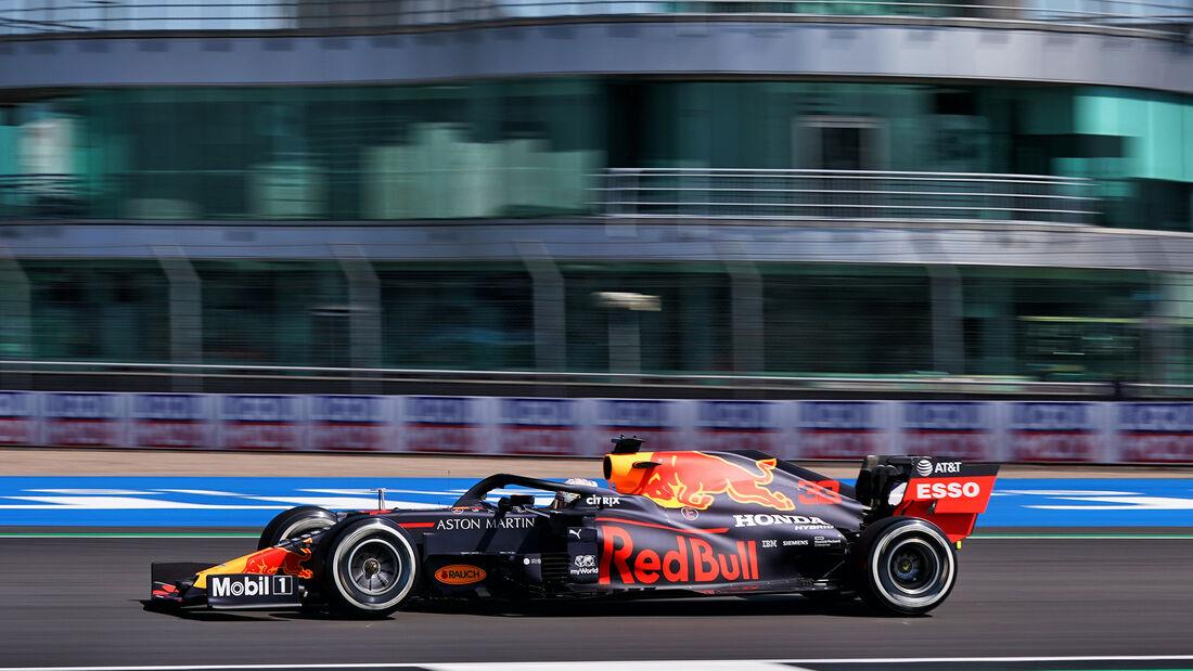Max Verstappen - Red Bull - Formel 1 - GP England - Silverstone - 31. Juli 2020