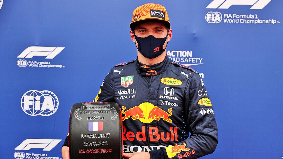 Max Verstappen - Red Bull - Formel 1 - GP Frankreich - Le Castellet - 19. Juni 2021