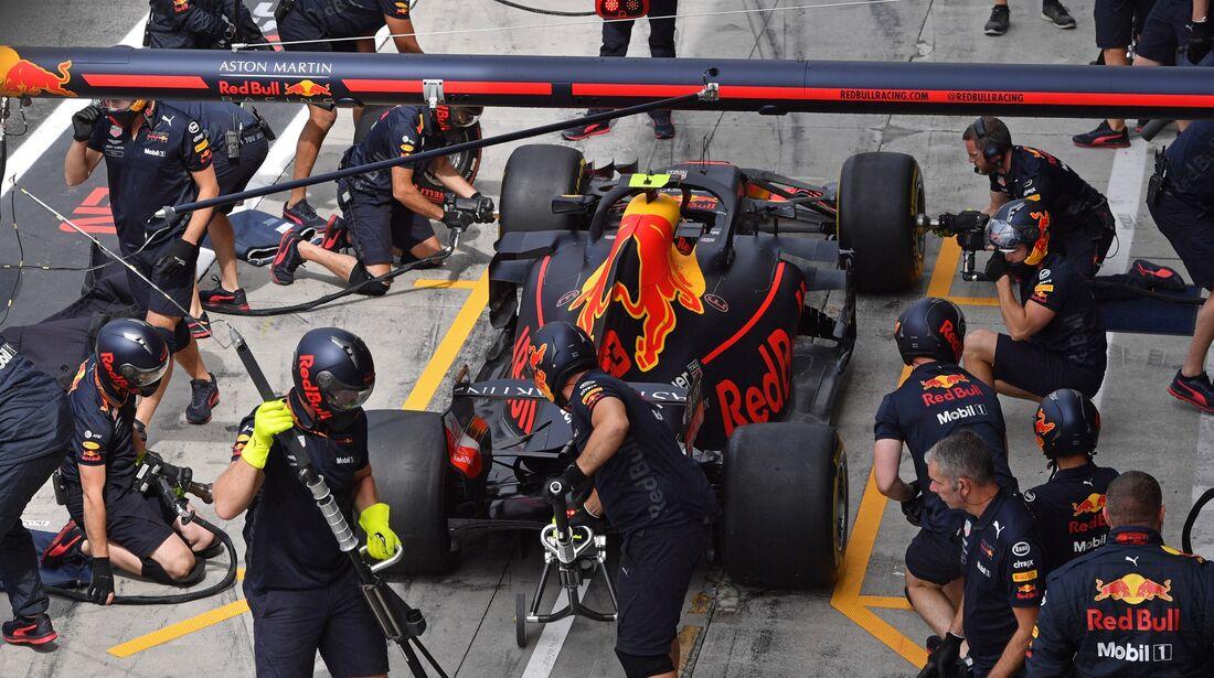 Max Verstappen - Red Bull - Formel 1 - GP Italien - 01. September 2018