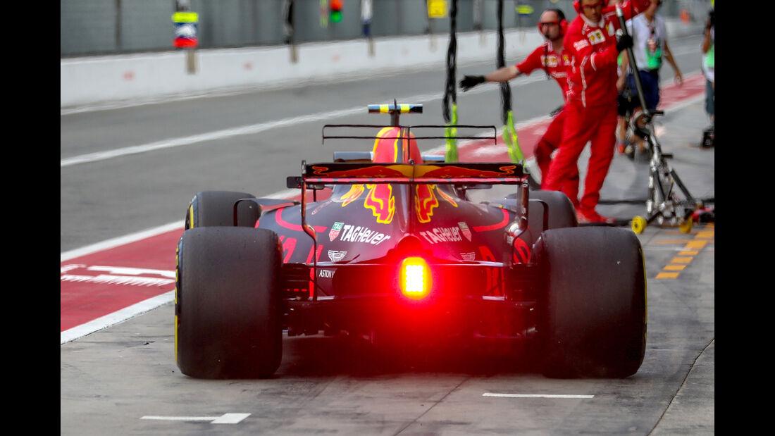 Max Verstappen - Red Bull - Formel 1 - GP Italien - Monza - 1. September 2017