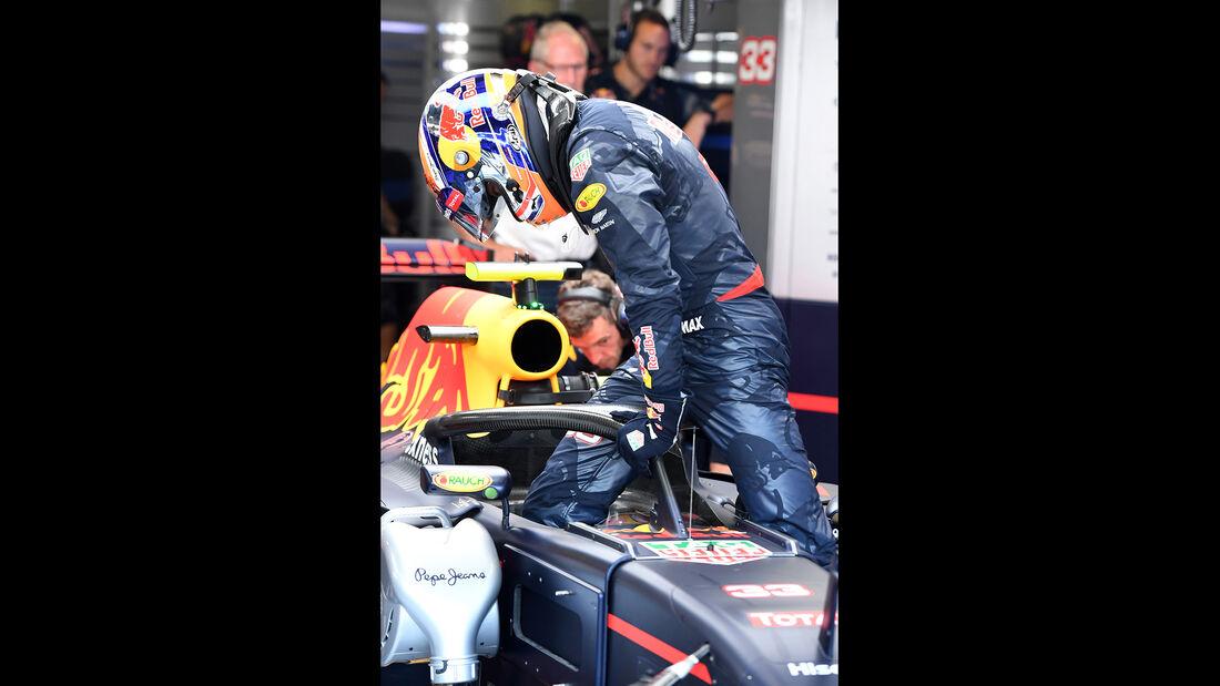 Max Verstappen - Red Bull - Formel 1 - GP Italien - Monza - 2. September 2016