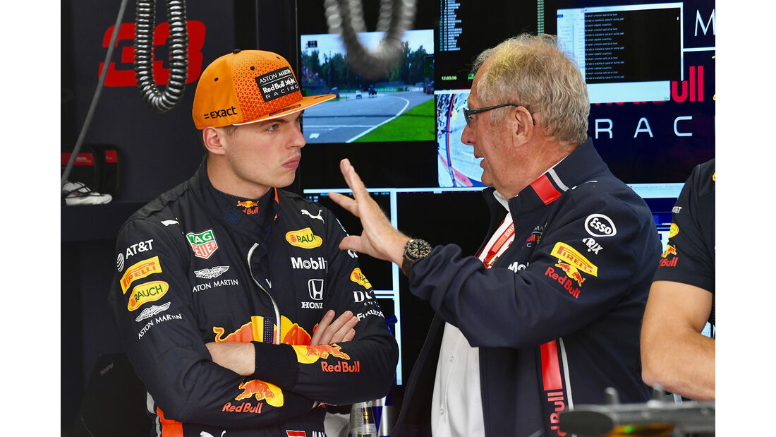 Max Verstappen - Red Bull  - Formel 1 - GP Italien - Monza - 7. September 2019