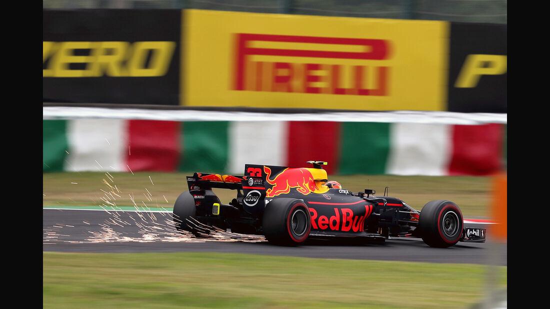 Max Verstappen - Red Bull - Formel 1 - GP Japan - Suzuka - 6. Oktober 2017