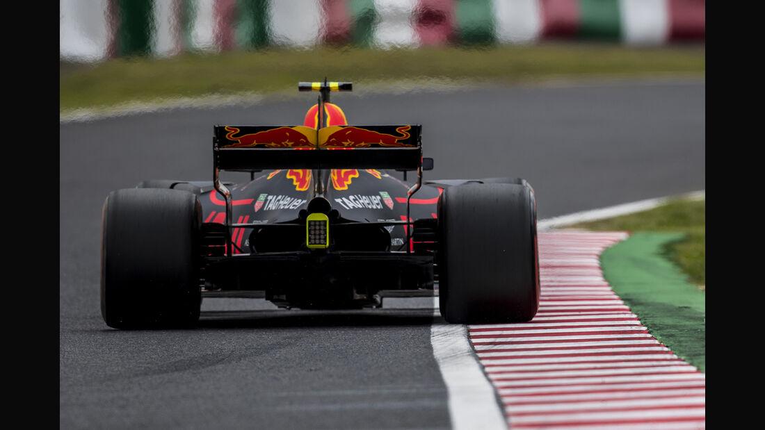 Max Verstappen - Red Bull - Formel 1 - GP Japan - Suzuka - 7. Oktober 2017