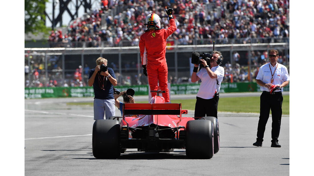 Max Verstappen - Red Bull - Formel 1 - GP Kanada - Montreal - 9. Juni 2018