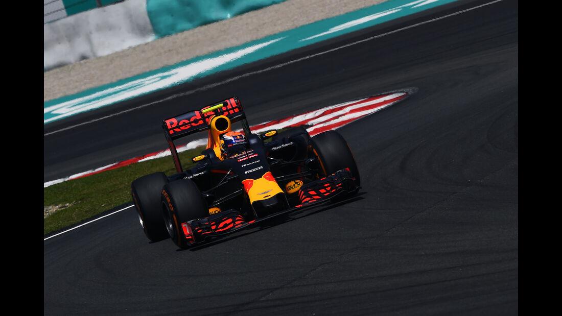 Max Verstappen - Red Bull - Formel 1 - GP Malaysia - Freitag - 30.9.2016