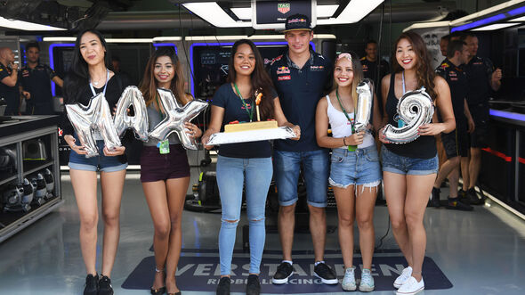 Max Verstappen - Red Bull - Formel 1 - GP Malaysia - Freitag - 30.9.2016