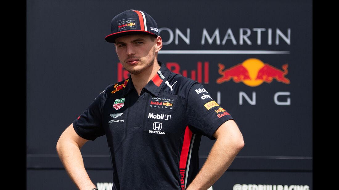 Max Verstappen - Red Bull - Formel 1 - GP Mexiko - 24. Oktober 2019