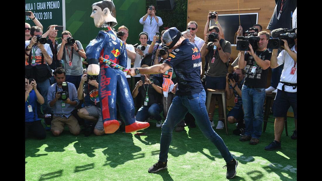Max Verstappen - Red Bull - Formel 1 - GP Mexiko - 25. Oktober 2018