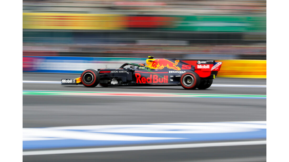 Max Verstappen - Red Bull - Formel 1 - GP Mexiko - 25. Oktober 2019