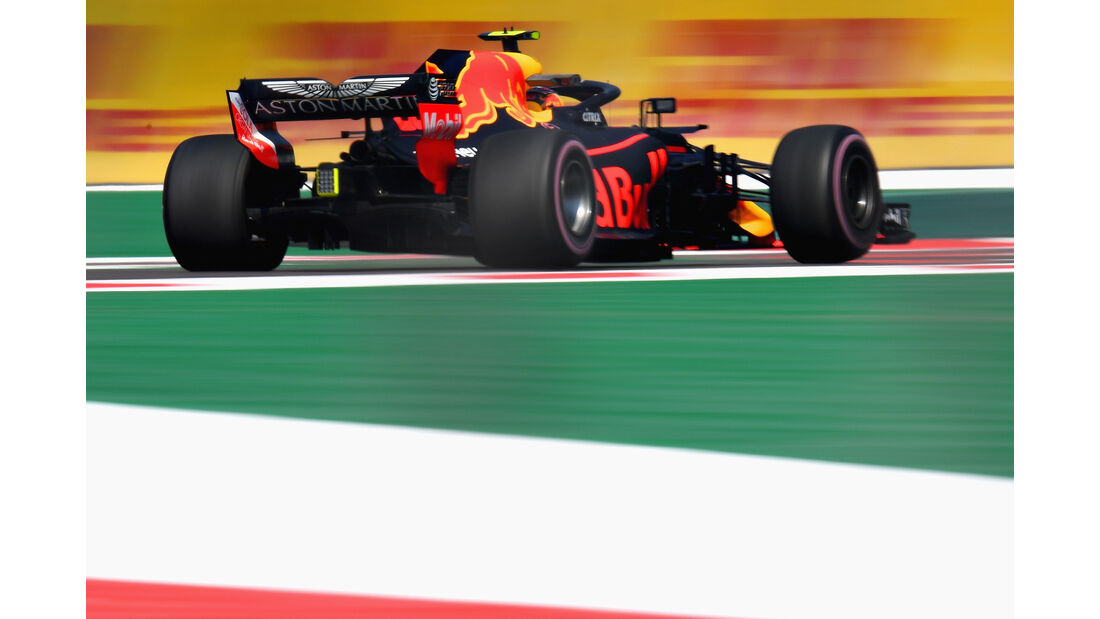 Max Verstappen - Red Bull  - Formel 1 - GP Mexiko - 26. Oktober 2018