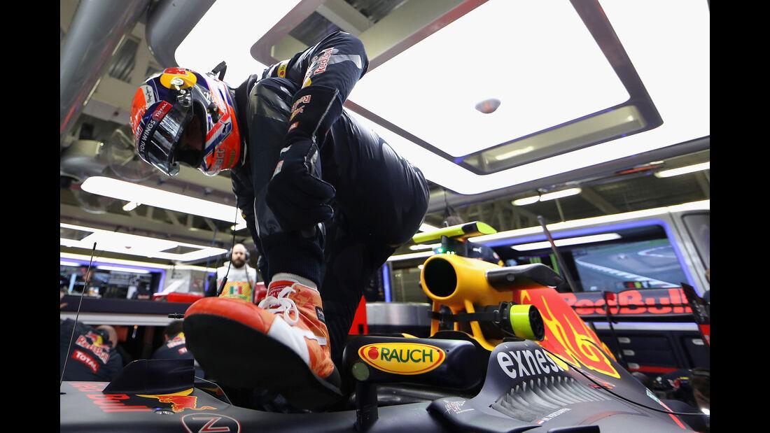 Max Verstappen - Red Bull - Formel 1 - GP Mexiko - 28. Oktober 2016
