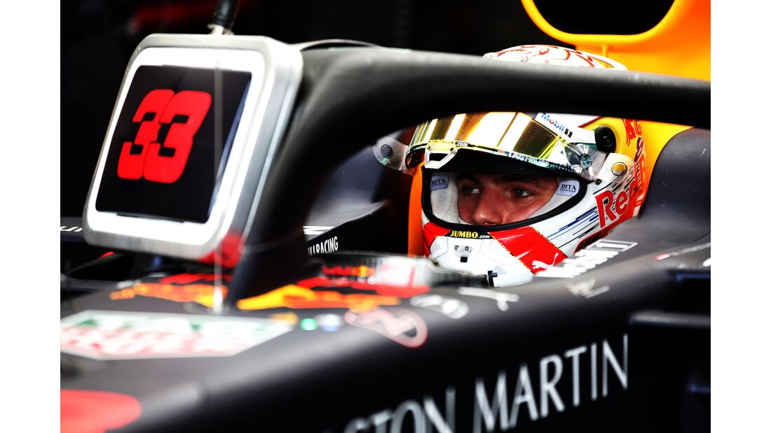 Max Verstappen - Red Bull - Formel 1 - GP Monaco - 23. Mai 2019