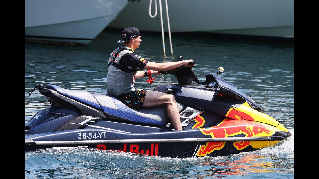 Max Verstappen - Red Bull - Formel 1 - GP Monaco - 26. Mai 2017